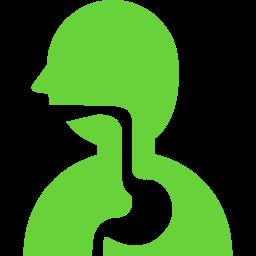 人の胃の消化の図のアイコン素材 2 (2)